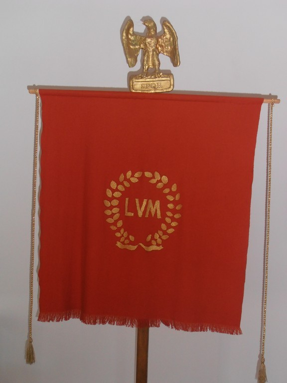 Castrul roman Jidova, steagul legiunii v macedonica
