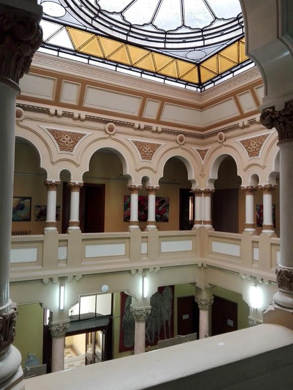 Muzeul de istorie Campulung, cladiri istorice Romania (
