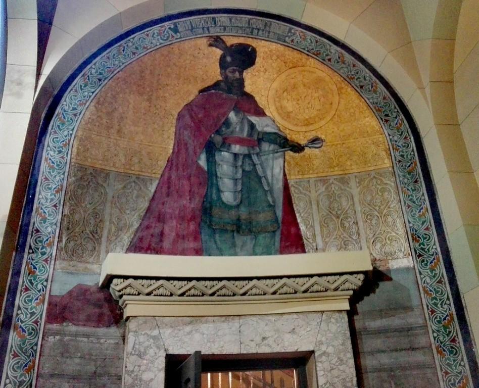Alba-Iulia-1-decembrie-ziua-nationala-obiective-turistice-Romania, Mihai Viteazul in catedrala