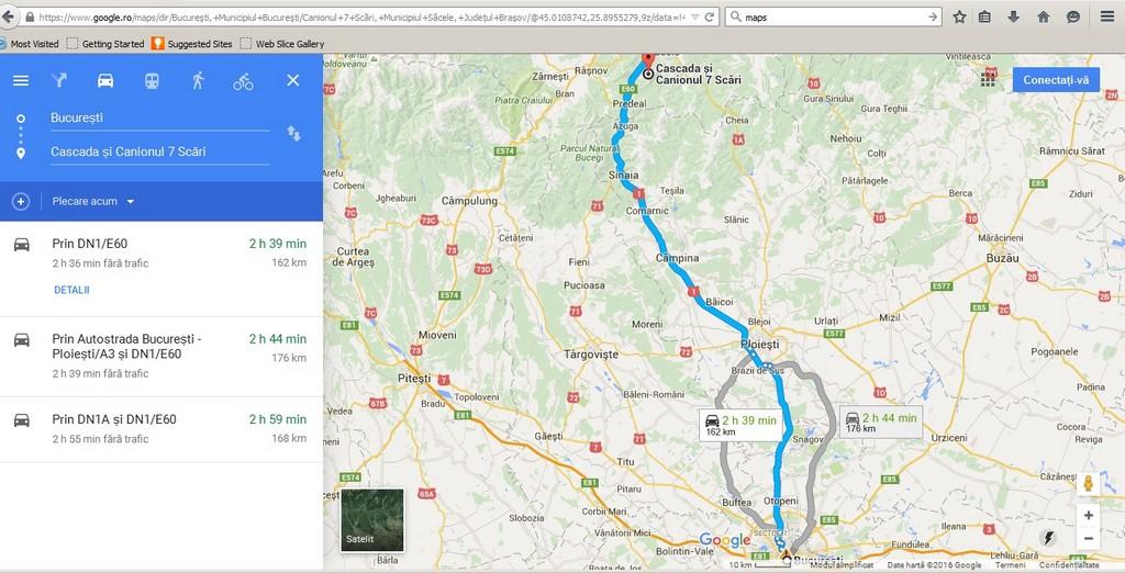 Bucuresti, Canionul Sapte Scari