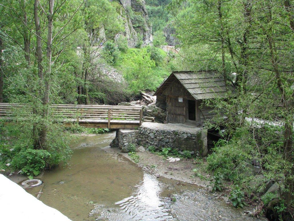 Morile de apa de la Eftimie Murgu, obiective turistice Romania, Mehedinti, concediu, infoturism