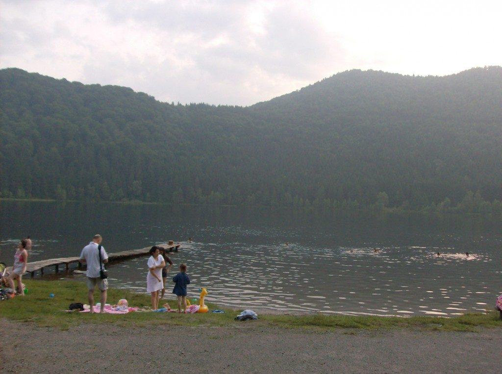 Lacul Sfanta Ana, obiective turistice in Tinutul Secuiesc, Romania, concediu