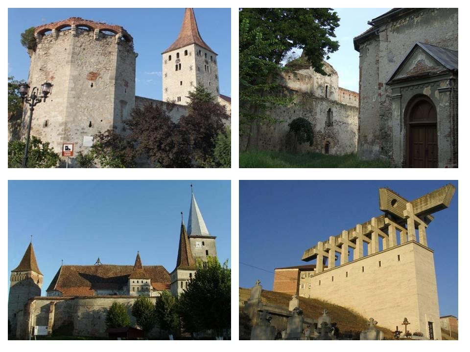 Cetatea Aiudului, traseu Transilvania, de la Alba Iulia la Aiud, obiective turistice Romania