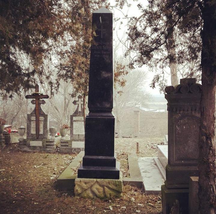 Mormantul lui Axente Sever, Blaj