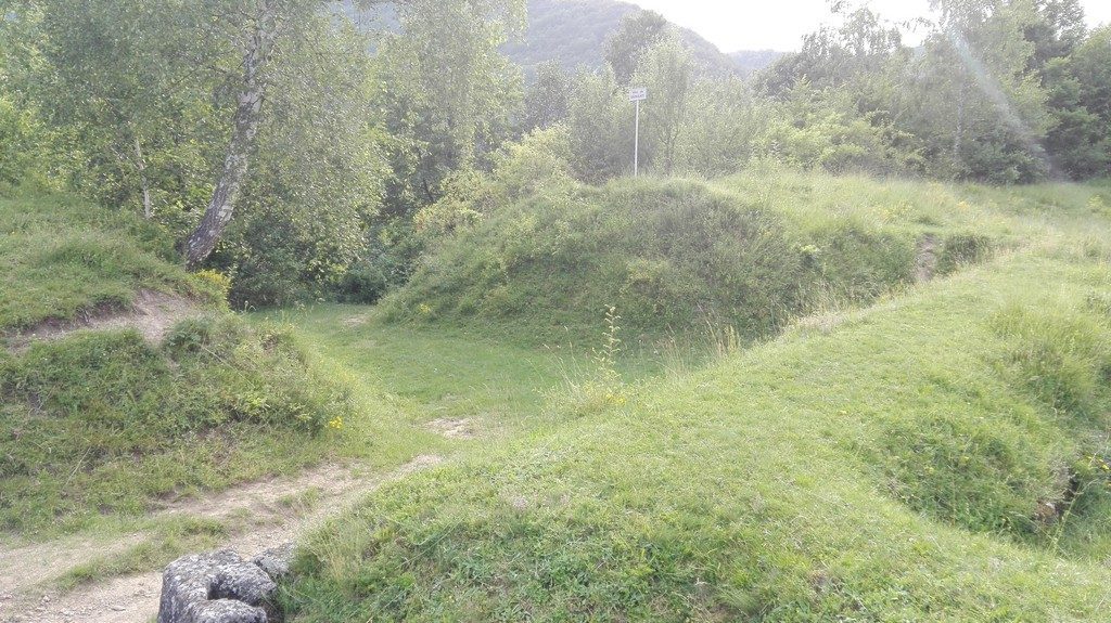 Cetatea dacica Cetatuie, infoturism (30)