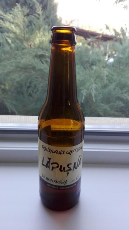 berea artizanala Lapusna, Romania, cea mai buna bere
