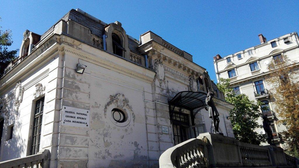 Muzeul George Enescu din Bucuresti, Palatul Cantacuzino, Calea Victoriei, obiective turistice Romania
