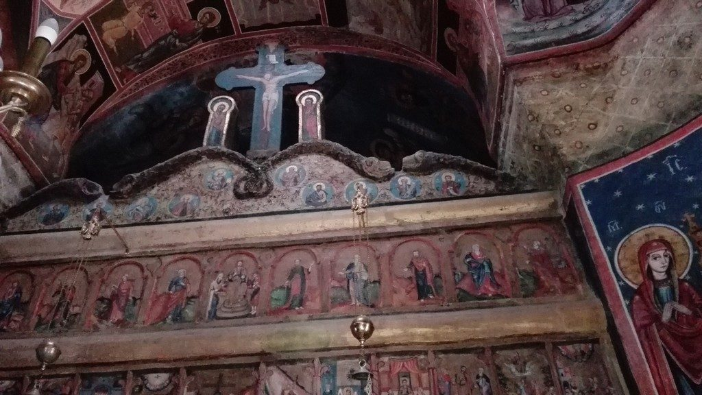 Manastirea Sinaia, pictura de Parvu Mutu