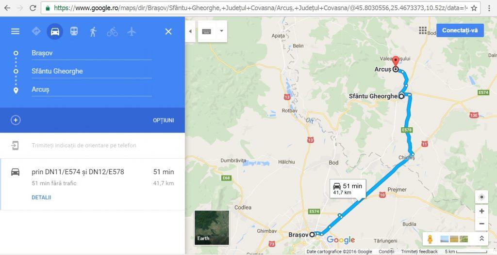 Sfantu Gheorghe si Arcus, Brasov, atractii turistice, descopera Romania