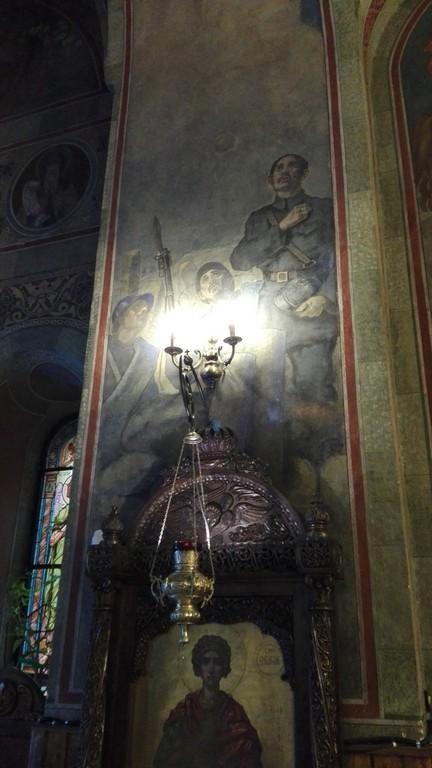 Pictura biserica Mihai Voda Bucuresti