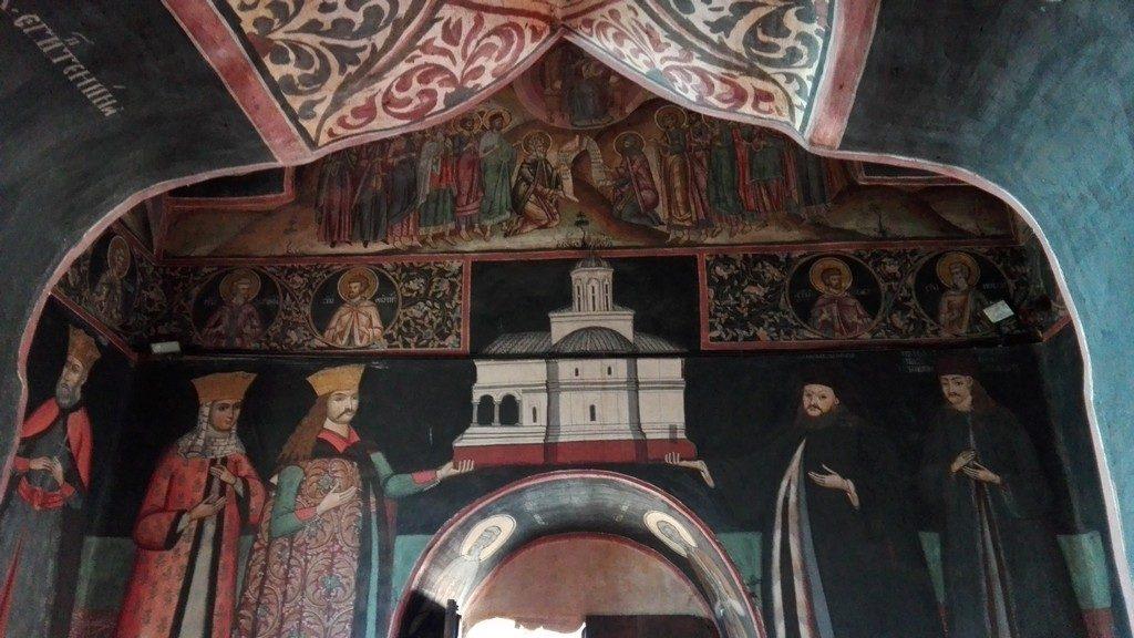 tabloul votiv, manastirea govora, radu cel mare