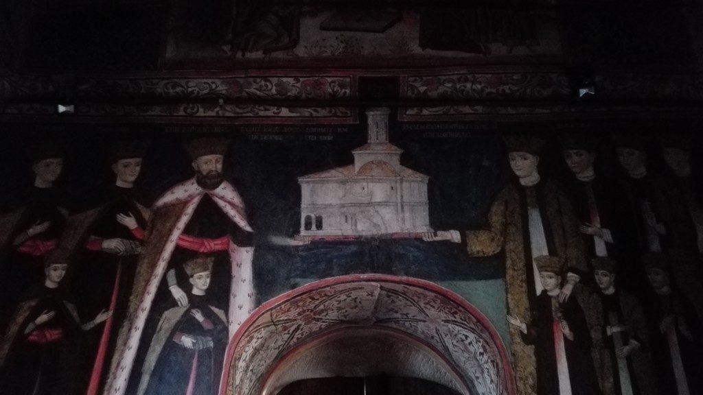 tabloul votiv Manastirea Surpatele