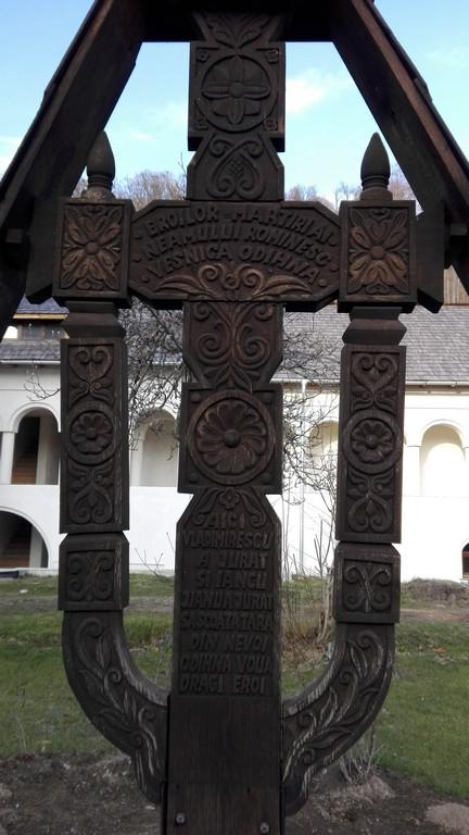 troita lui Iancu Jianu si Tudor Vladimirescu de la Manastirea Surpatele