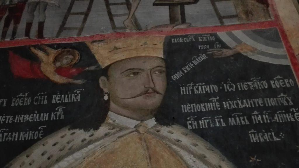 Petru Cercel, Manastirea Calui