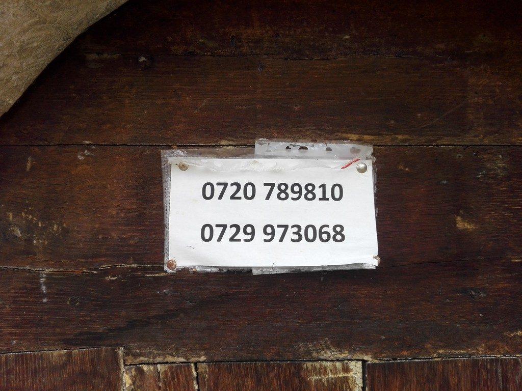 date de contact pentru vizitare biserica Strei
