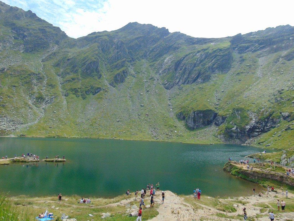 obiective-turistice-Romania-Transfagarasan, Lacul Balea