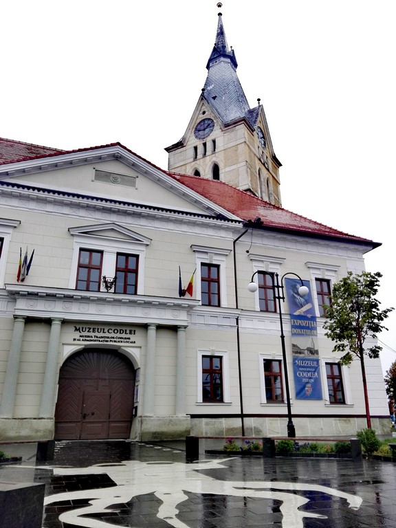 Biserica fortificata Codlea, obiective turistice Brasov, Romania