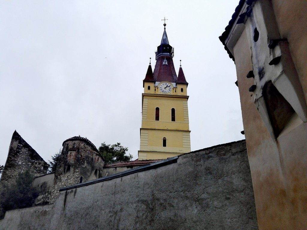 Biserica fortificata Cristian, obiective turistice Brasov, Romania