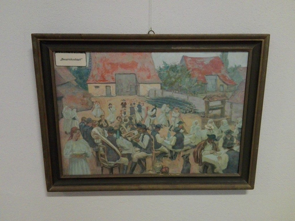 picturi Eduard Morres, biserica fortificata Codlea, obiective turistice Brasov, Romania (12)