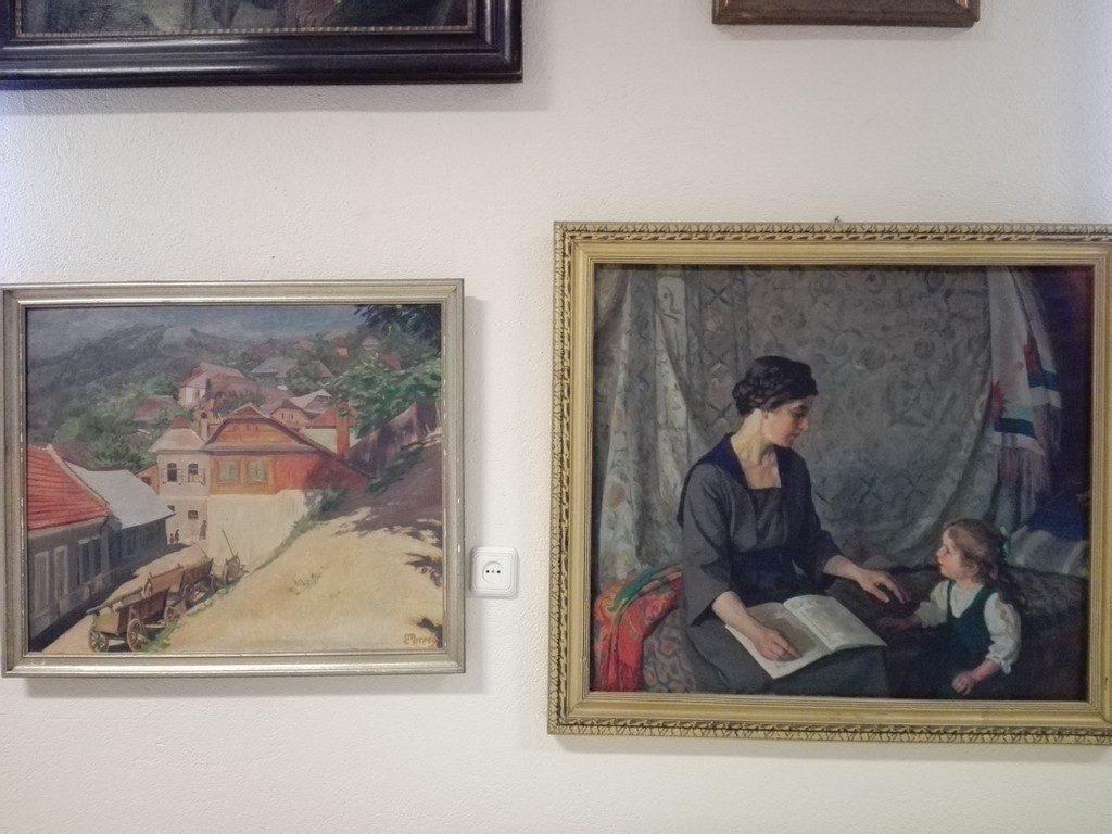 picturi Eduard Morres, biserica fortificata Codlea, obiective turistice Brasov, Romania