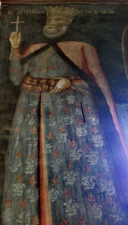 pictura brancoveanu, Schitul Fedelesoiu, obiective turistice Valcea, Romania, infoturism, manastirea fedelesoiu