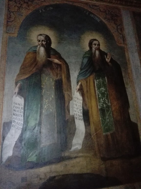Biserica Puchenii Mari, obiective turistice Prahova, pictura de Grigorescu