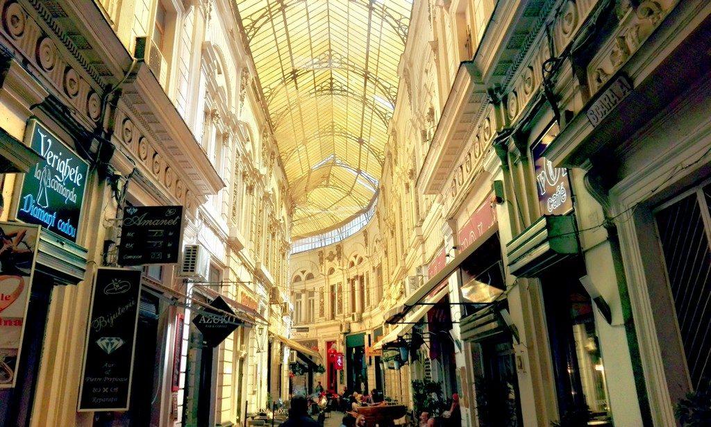 Pasajul Vilacrosse, obiective turistice Bucuresti