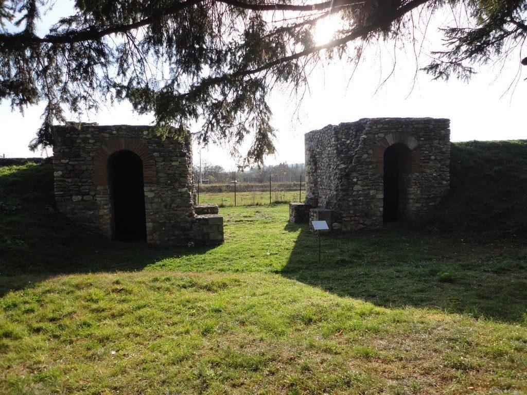 Castrul roman Jidova, Campulung, obiective turistice Romania, Arges, infoturism