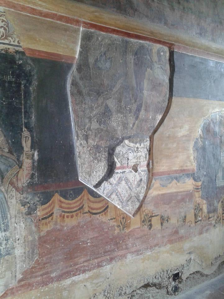 Biserica Domneasca Curtea de Arges, straturi de pictura