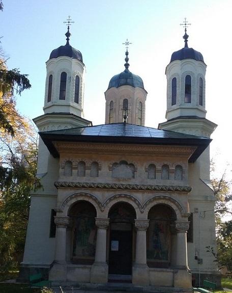 Biserica Manesti, obiective turistice in jurul Targoviste, Dambovita, Romania , Nicolae Vermont, Lecomte de Nouy