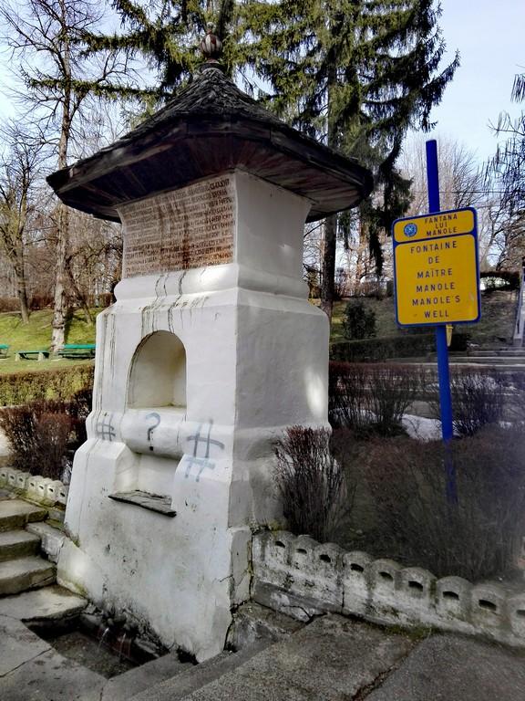 obiective turistice Curtea de Arges, manastirea, fantana lui Manole, locul in care a fost zidita Ana, Romania, Arges