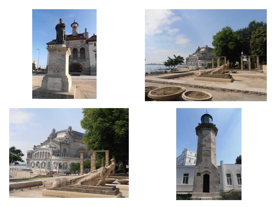 Muzeul de Arheologie si statuia lui Ovidiu, Farul si Cazinoul, obiective turistice din Constanta