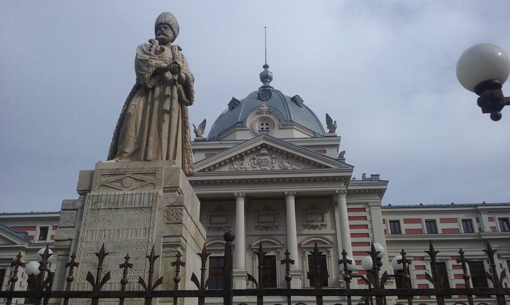 Statuia realizata de Karl Stork