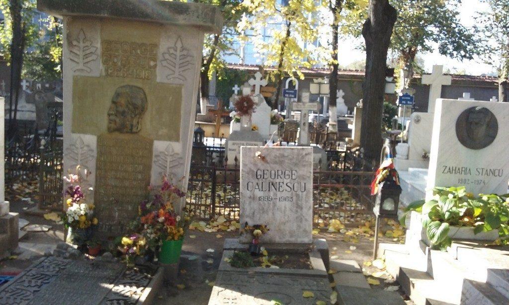 Cimitirul Bellu, obiective, monumente istorice, bucuresti, romania, mormantul lui Zaharia Stancu, George Cosbuc, George Calinescu