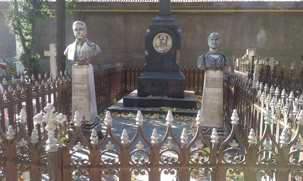 Familia Dalles, Cimitirul Bellu, obiective, monumente istorice, bucuresti, romania