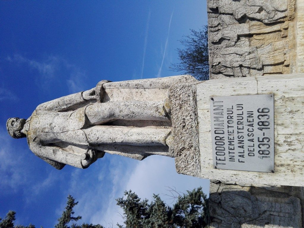 Teodor Diamant, socialism, statuia de la Scaieni, obiective turistice si monumente Prahova, Romania
