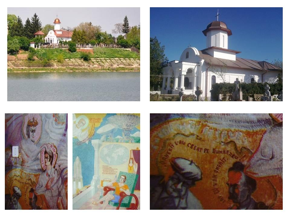Biserica Draganescu, pictura Arsenie Boca