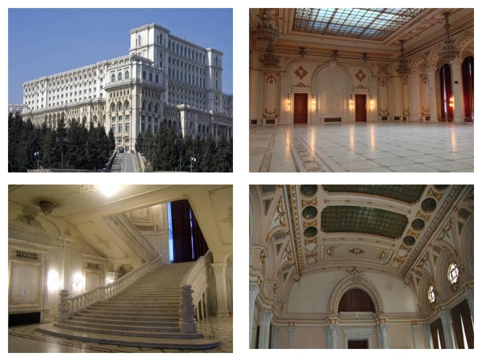 Palatul Parlamentului Bucuresti, Casa Poporului, Obiective turistice Romania