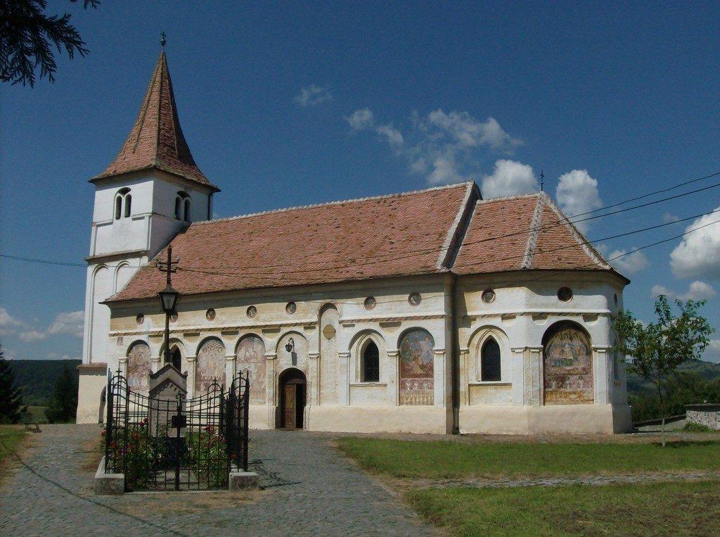 Biserica ortodoxa din Avrig, mormantul lui Gheorghe Lazar