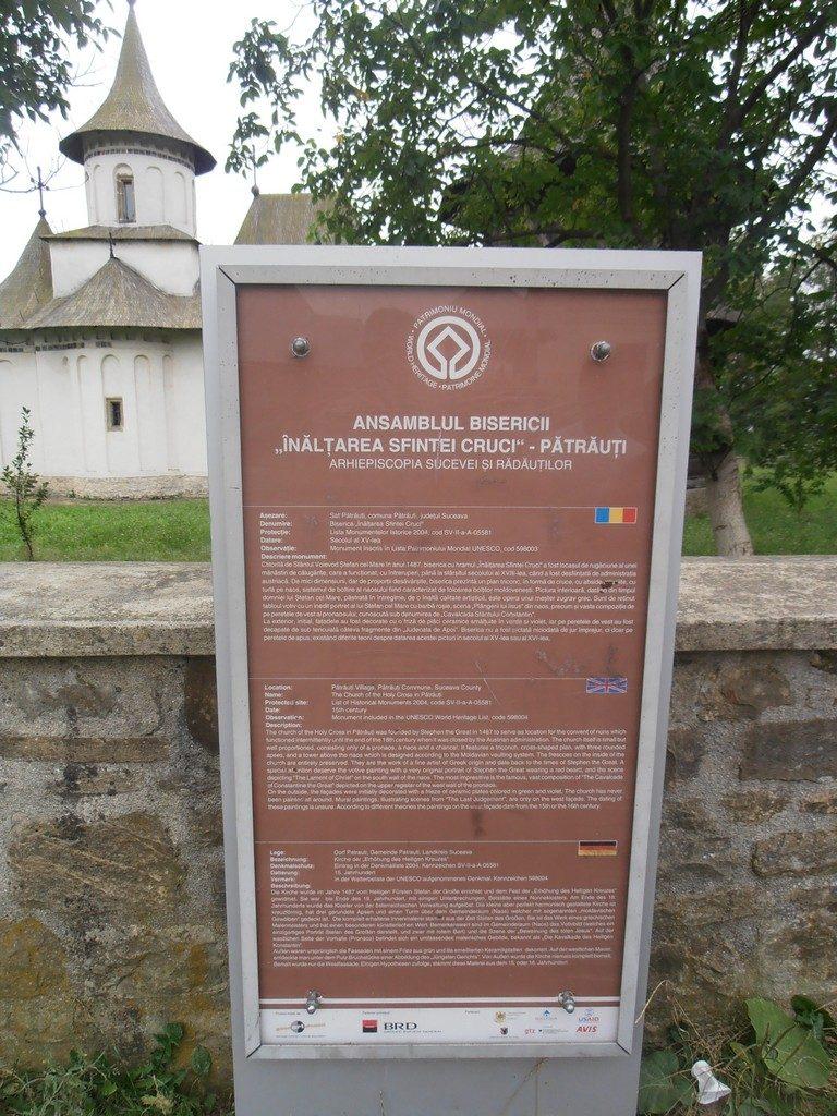 traseu in Bucovina, manastirea Patrauti, obiective turistice Moldova, Romania
