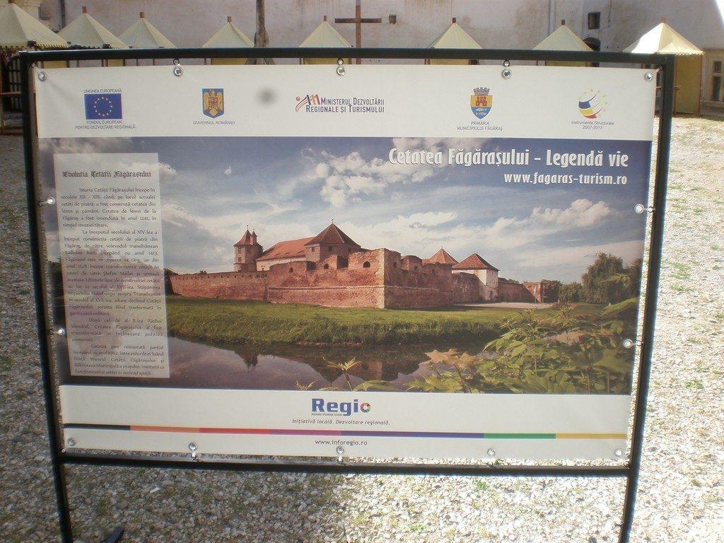 Cetatea Fagarasului, Obiective turistice din Romania