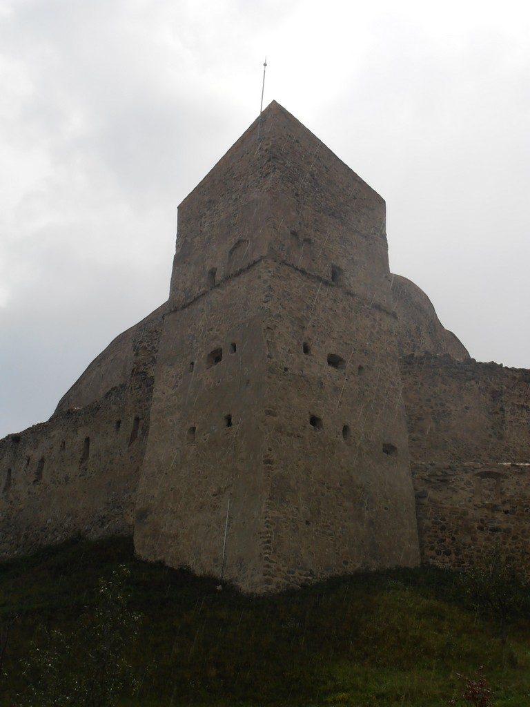 Cetatea Rupea obiective turistice in Brasov, Romania, traseu in Transilvania