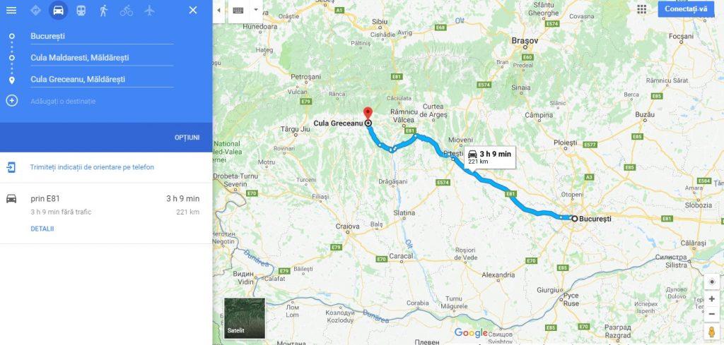 Din Bucuresti la culele Maldarescu si Greceanu, obiective turistice in zona Horezu