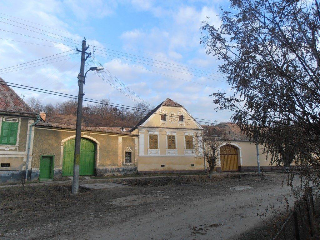 , obiective turistice, case din Richis, Transilvania, Erdely, Ardeal
