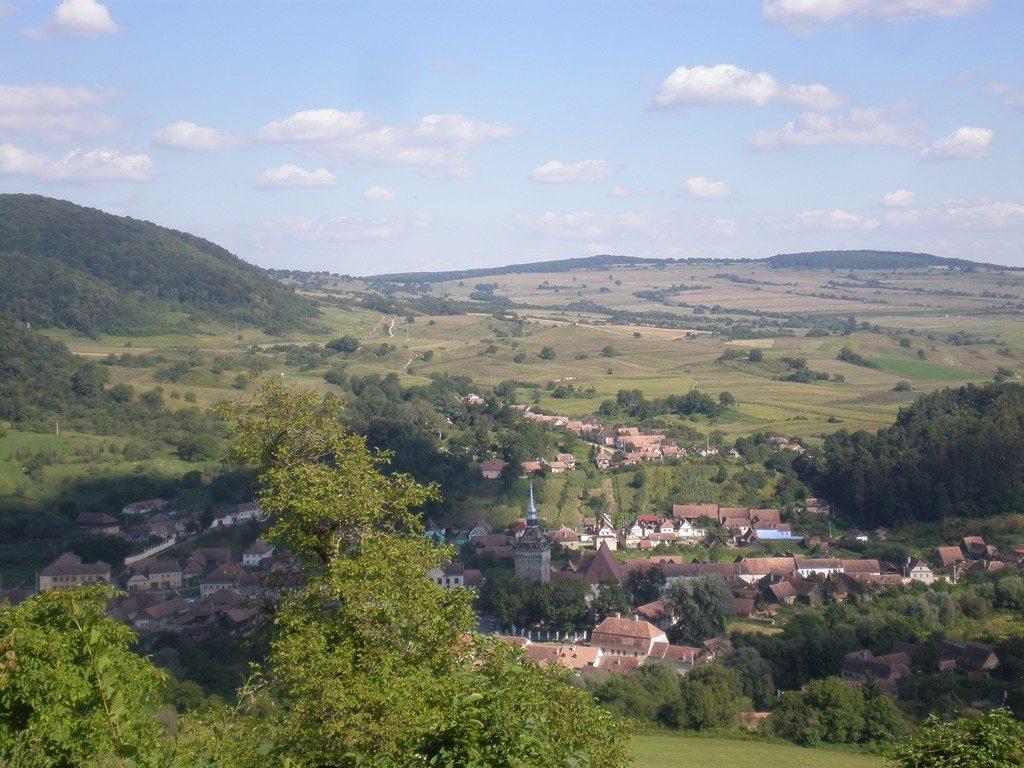 Biserica din Saschiz, obiective turistice Transilvania, Romania , Transilvania Bike Trails, brunch, Festivalul Rabarbarului, Saptamana Haferland
