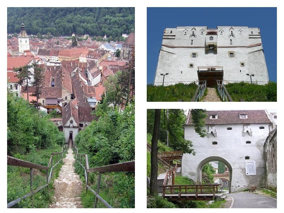 Obiective turistice Brasov, bastionul graf si turnul alb