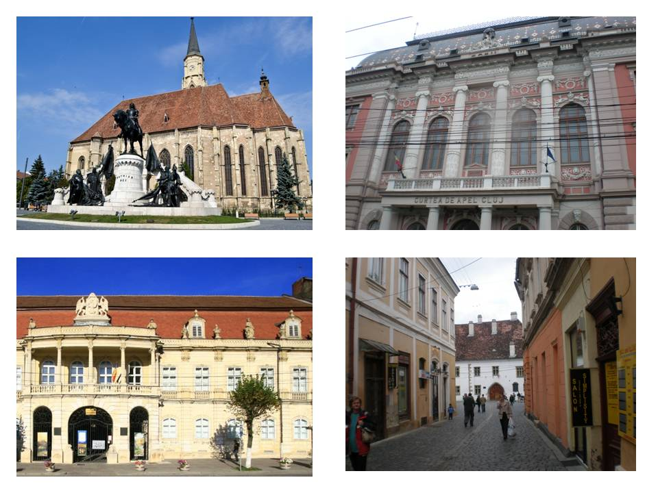 obiective turistice in Cluj Napoca, muzee, biserici, istorie, infoturism