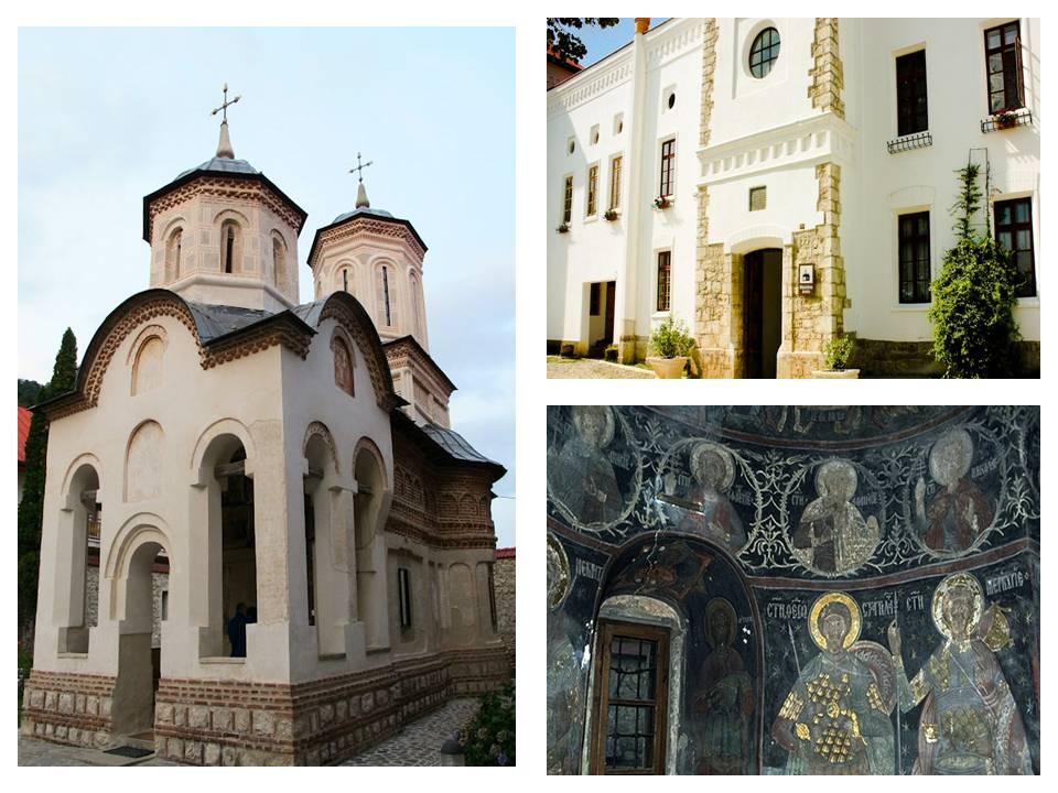 Manastirea Arnota, obiective turistice Horezu, Gorj, Romania