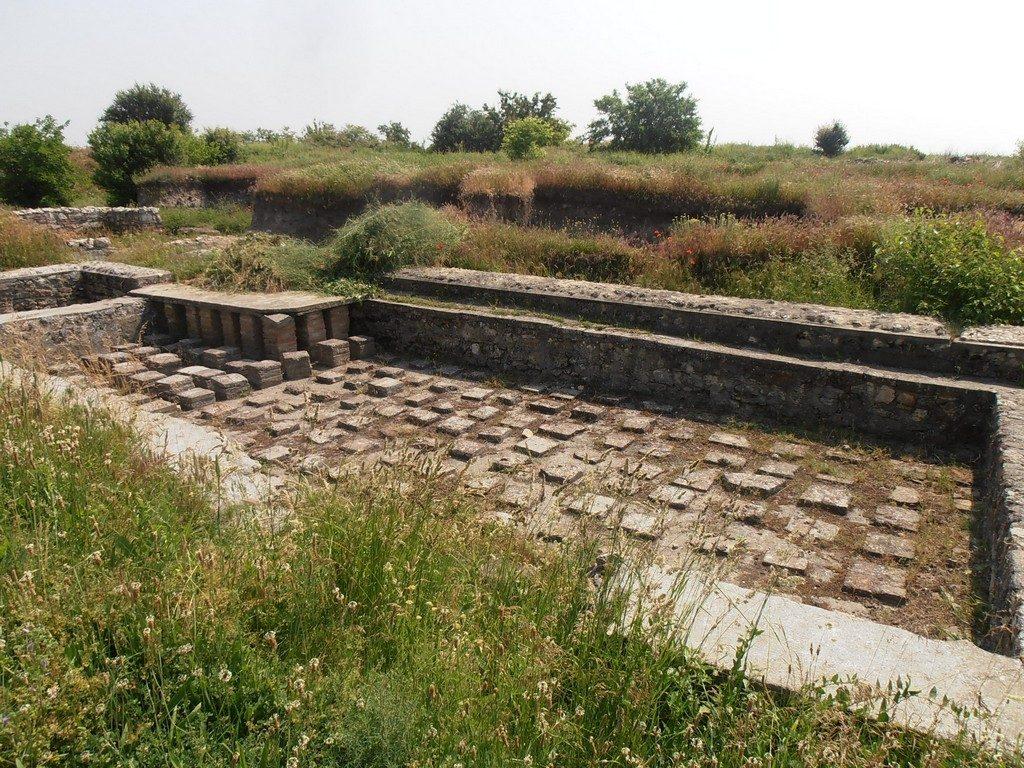 Castrul roman Sucidava, obiective turistice Olt, Corabia, Romania