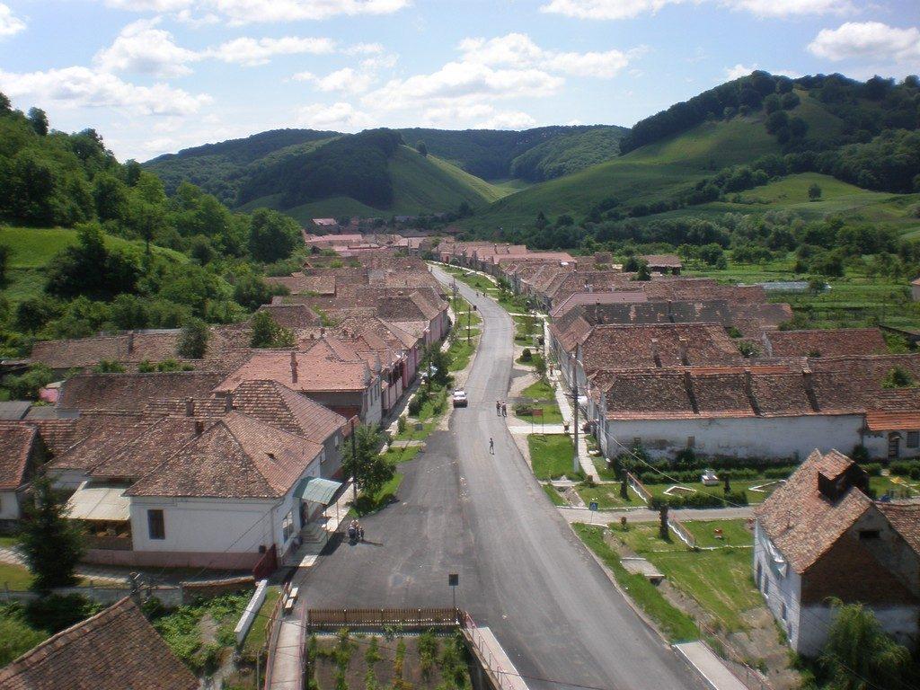 biserica fortificata din Valea Viilor, Unesco, obiective turistice judetul Sibiu